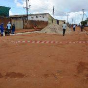 Município de Nampula continua no encalço de ruas degradadas para sua pavimentação